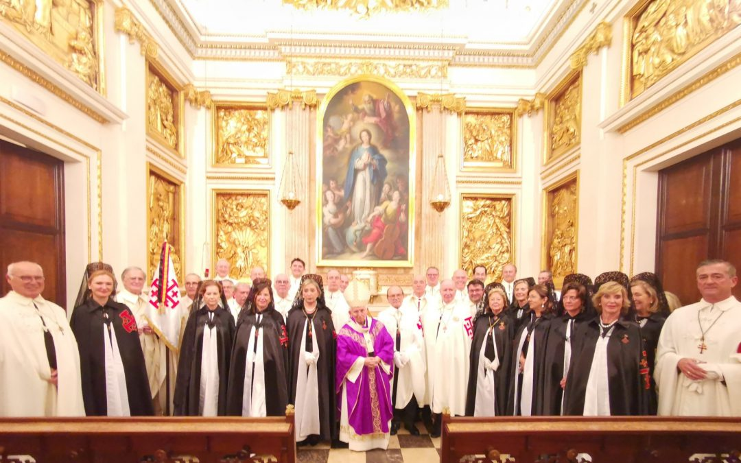 Celebración de la fiesta de la Virgen de Palestina en Valencia