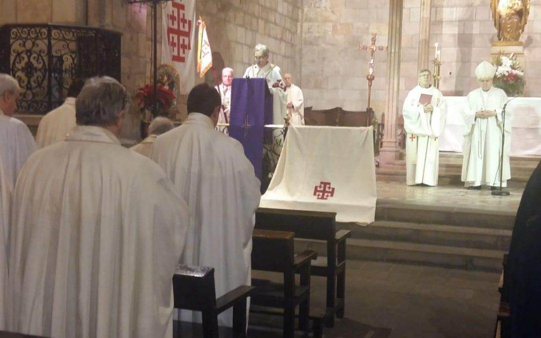 Fiesta de la Virgen de Palestina en Barcelona