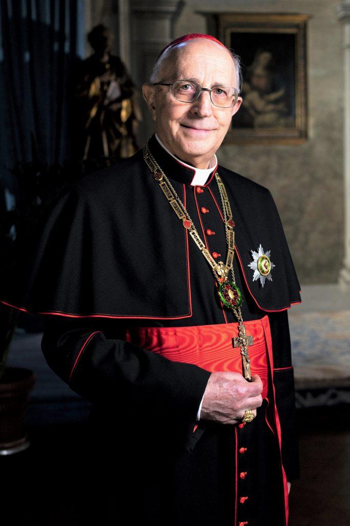 El Emmo. y Rvdmo. Sr. D. Fernando Filoni, Cardenal Gran Maestre de la Orden