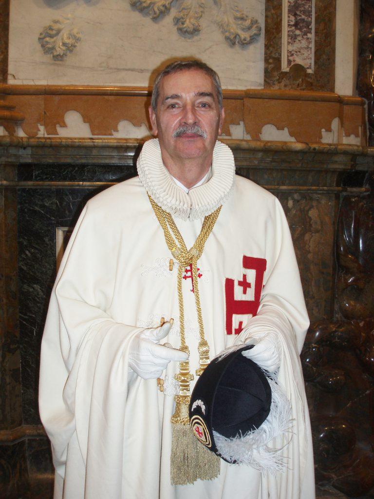 Excmo. Sr. D. Juan Carlos de Balle. Lugarteniente de la Orden