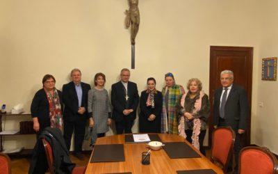 Visita al arzobispo de Tarragona, Mons. Joan Planellas