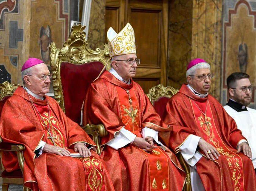 Santa Misa de inicio del mandato del nuevo Gran Maestre