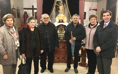 La Sección de Aragón participa en la Misa de inauguración de la restauración de la ermita del Santo Sepulcro de Tauste