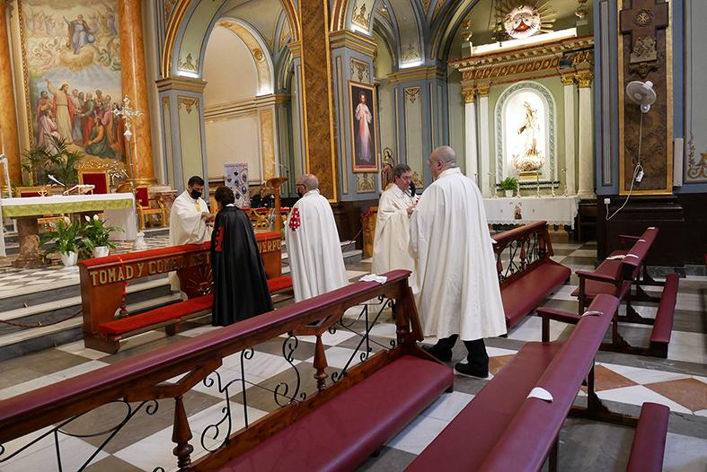 Celebración Eucaristía en memoria de los fallecidos de COVID19 y por la mejoría de los enfermos