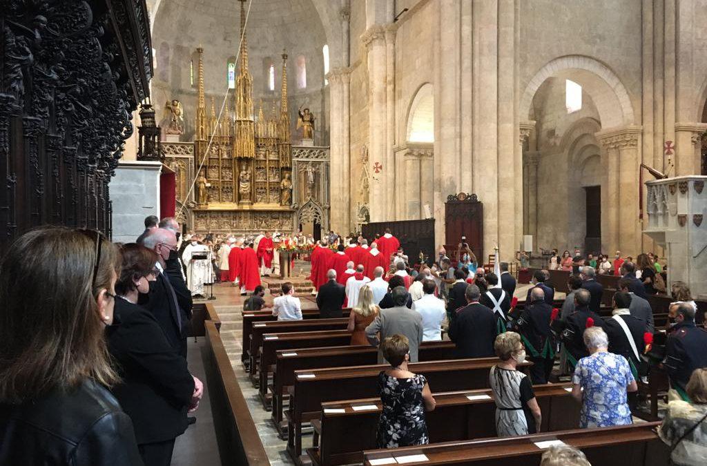 Asistencia al Pontifical de Santa Tecla en Tarragona