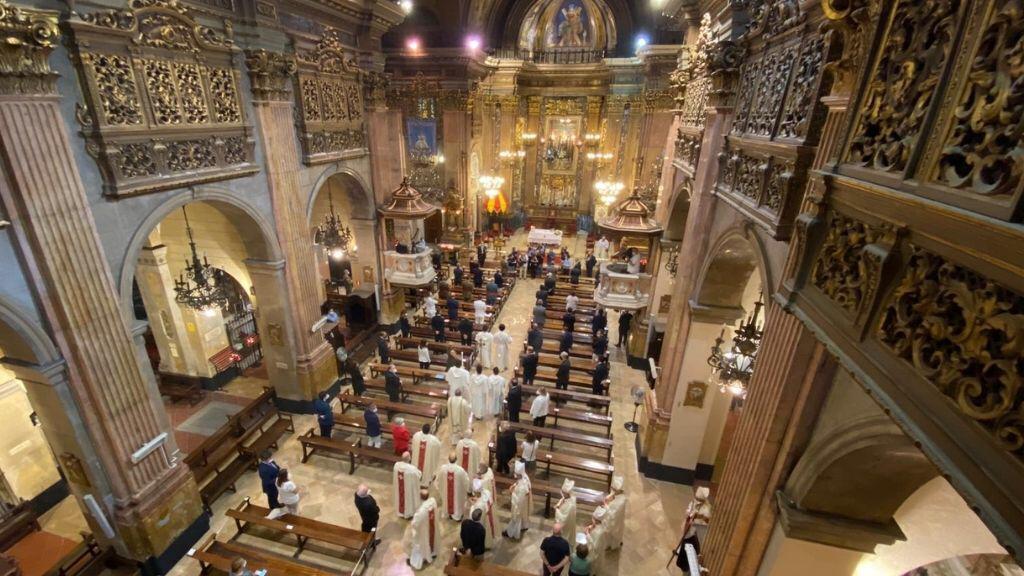 Asistencia al Pontifical de la Virgen de la Merced en Barcelona