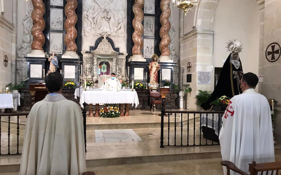 Celebración Eucarística con motivo de la visita al Monasterio de la Sant Faz de Alicante