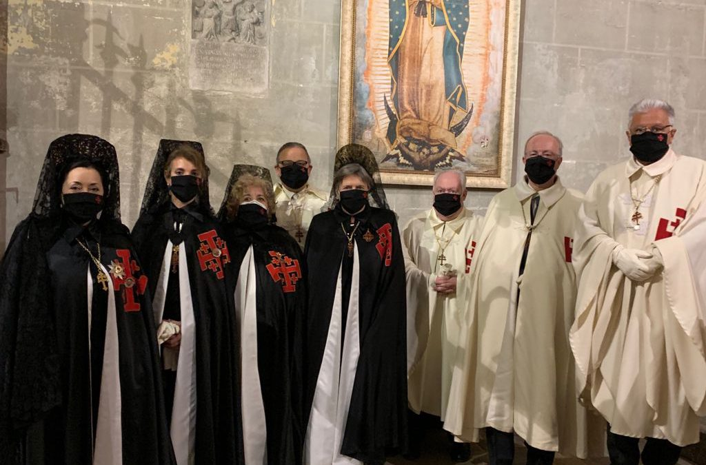 Asistencia a los Oficios de Jueves y Viernes Santo de la Delegación de Tarragona