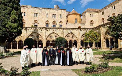 Asistencia de la Delegación de Tarragona al Oficio de Pascua de Resurrección