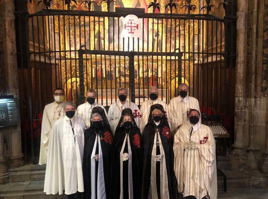 Asistencia de la Orden a los Oficios de Semana Santa en la Catedral de Barcelona